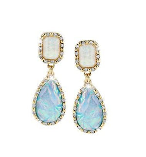 Drops of Jupiter Iridescent Dangling Earrings