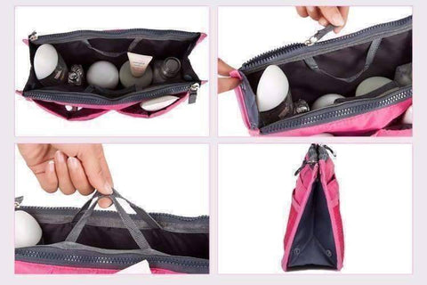 "Feshionn IOBI accessories ""Bag In Bag"" All Purpose Multi-Section Expandable Tote - 5 Colors to Choose!"