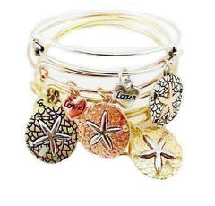 Feshionn IOBI bracelets Gold CLEARANCE - Starfish Love Adjustable Bangle Bracelet - Choose Your Color
