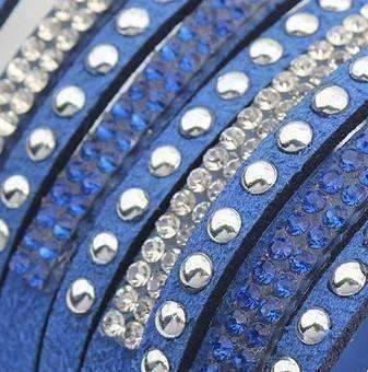 Feshionn IOBI bracelets Power Cuff Bracelet in Cobalt Blue