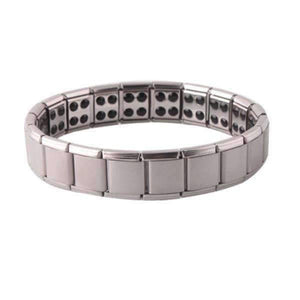 Feshionn IOBI bracelets Stainless Steel Stainless Steel Germanium Magnetic Link Therapy Bracelet