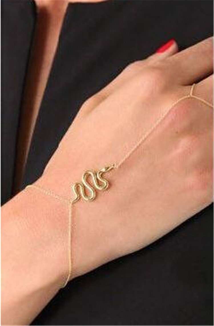 Feshionn IOBI bracelets Yellow Gold CLEARANCE - Snake Chains Body Jewelry Bracelet