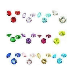 Feshionn IOBI Charms Floating Accent Crystals for Story of My Life Charm Lockets 5mm - 12 Colors to Choose!!