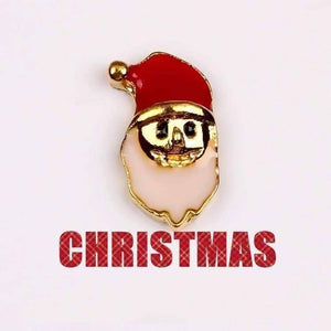 Feshionn IOBI Charms Santa Face Holiday Collection Free Floating Charms for Charm Locket Necklaces