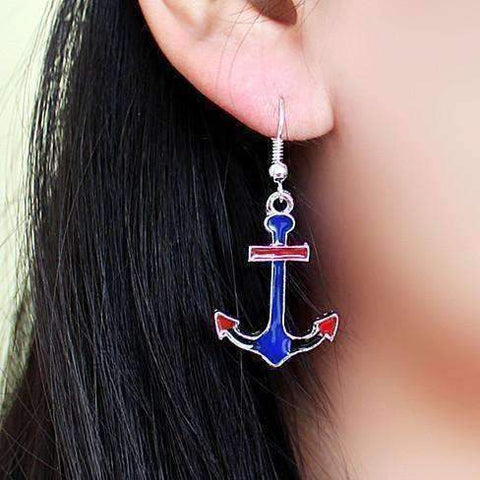 Feshionn IOBI Earrings American Anchor Earrings