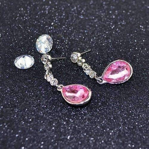 Feshionn IOBI Earrings IOBI Crystals Dew Drop Earrings - Choose Your Color