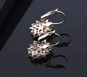 Feshionn IOBI Earrings ON SALE - Brilliant Austrian Crystal Flower Earrings