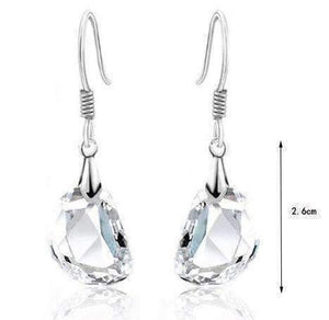 Feshionn IOBI Earrings ON SALE - Princess Drop Austrian Crystal Earrings