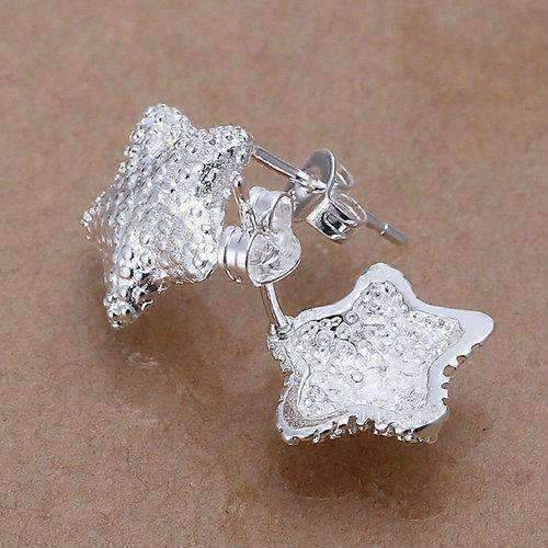 Feshionn IOBI Earrings silver Silver Starfish Stud Earrings