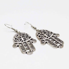 Traditional Hamsa Earrings