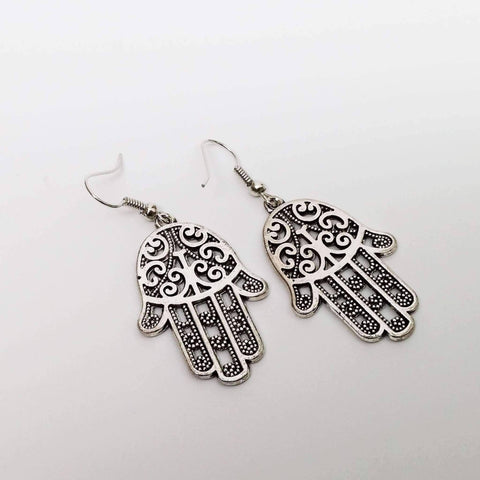 Feshionn IOBI Earrings Traditional Hamsa Earrings