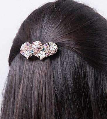 Party Pretty Crystal and Rhinestone Hair Clip Barrettes ~ Choose your style!