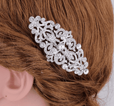 Feshionn IOBI Hair Jewelry Vintage Style Crystal and Filigree Hair Comb
