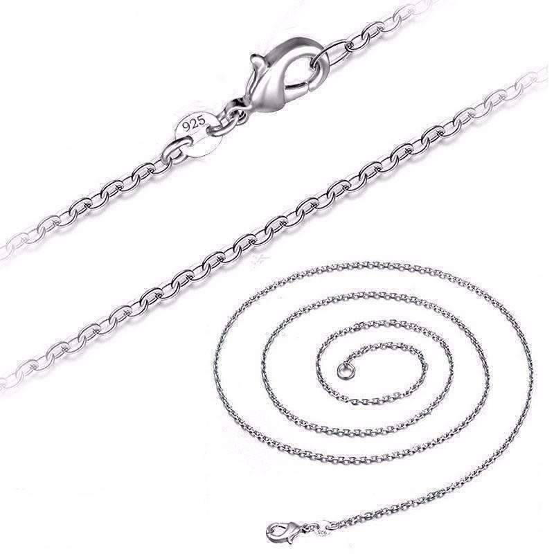 double cleo tassel chain hi res necklace silver