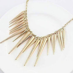 Dangling Icicles Necklace in Gold or Silver