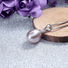 Image of Feshionn IOBI Necklaces Lavender Genuine Freshwater Pearl Drop Necklace