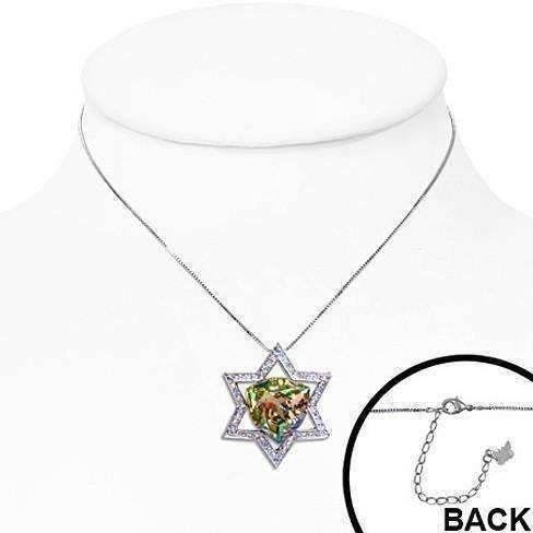 Feshionn IOBI Necklaces Mystique Champagne Star of David Necklace