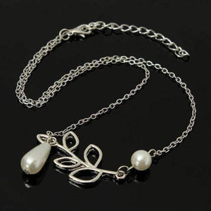 Feshionn IOBI Necklaces ON SALE - Pearl Droplet Thread Necklace
