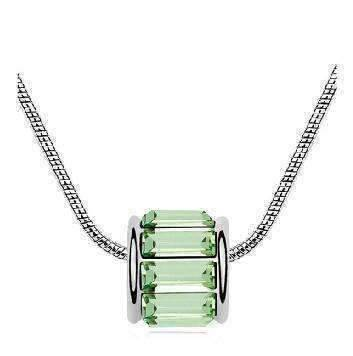 Feshionn IOBI Necklaces Peridot Green IOBI Crystals Necklace