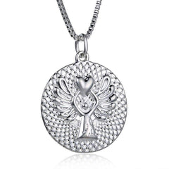 Guardian Angel Blessing Necklace
