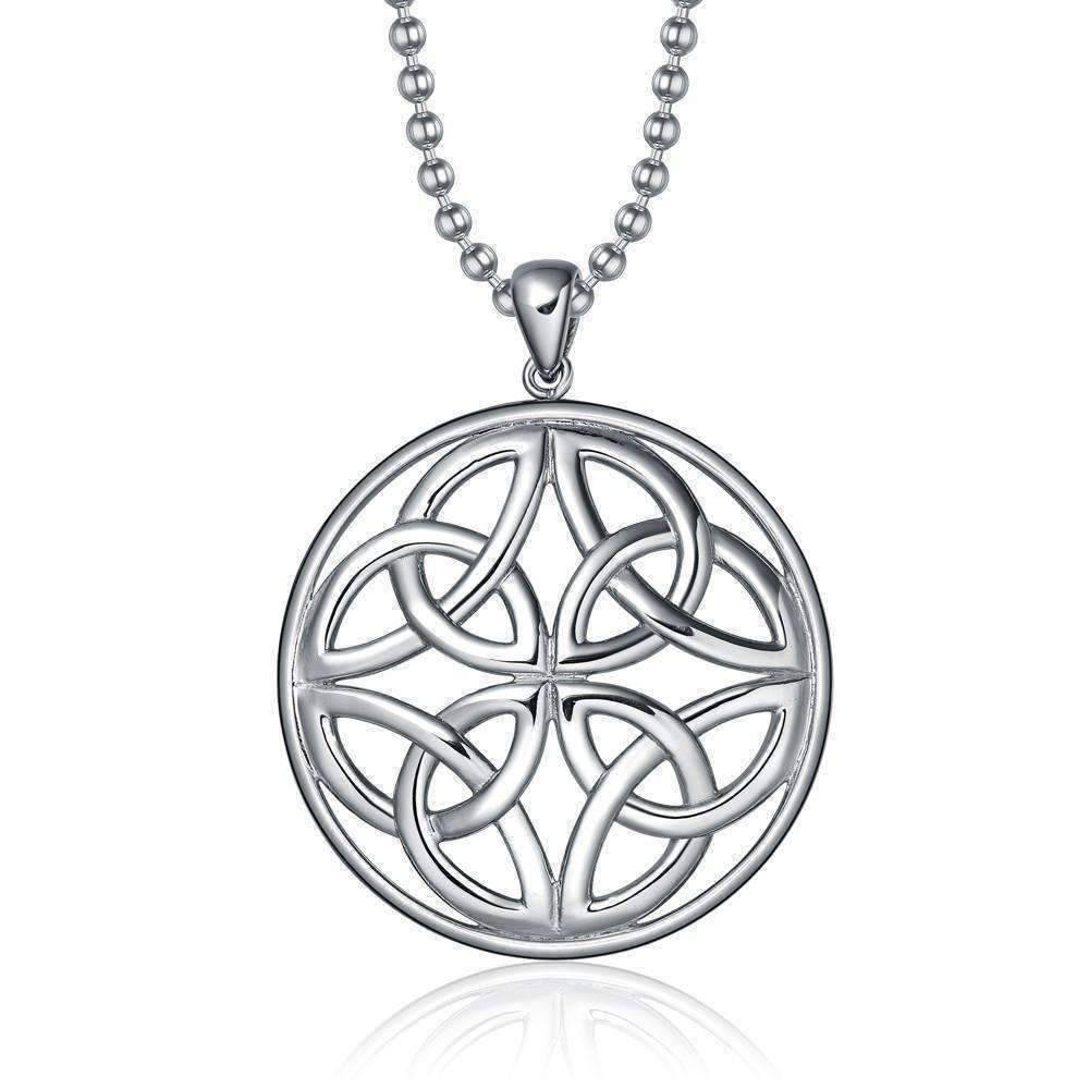 necklace knot pendant celtic holy ssp p triquetra ffj htm double trinity