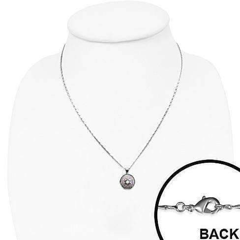 Feshionn IOBI Necklaces Star of David Pave Swiss CZ Diamonds Necklace