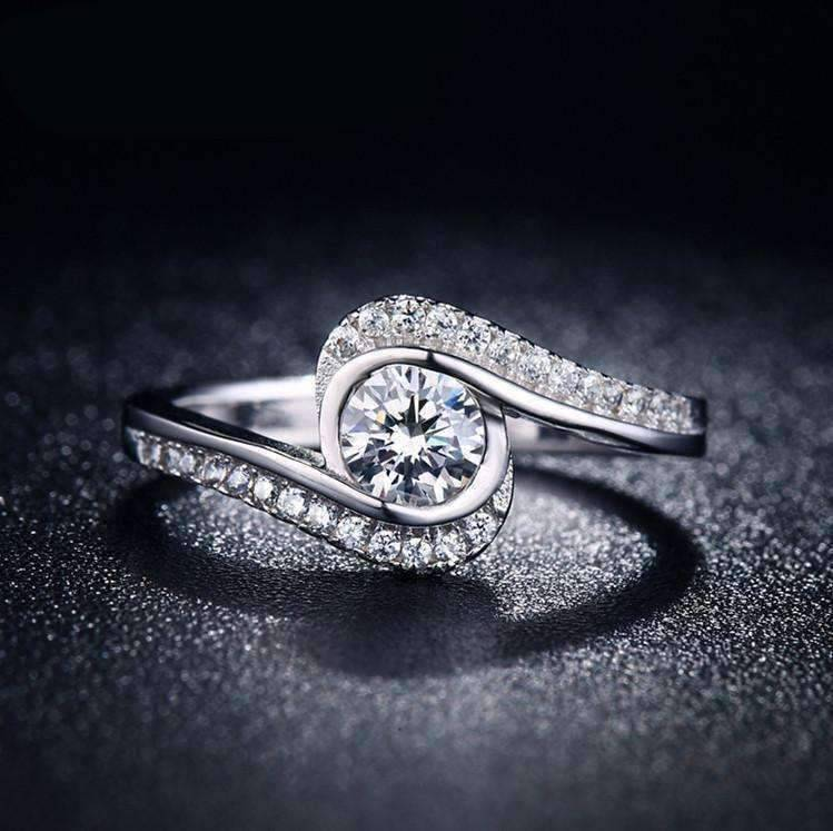 item diamond rings accents alluring simulated carat ring with engagement