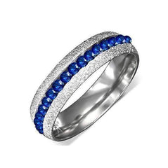 "Feshionn IOBI Rings 7 / Blue ""Luxury Blue"" Ring"