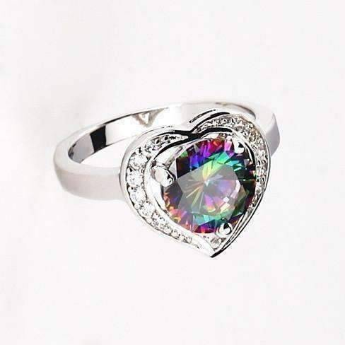 Feshionn IOBI Rings 7 / Rainbow Topaz Arcenciel Ring