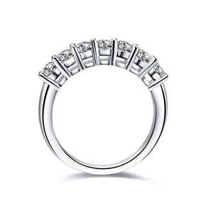 Feshionn IOBI Rings Arienne .38CT Petite Cathedral Pavé Band IOBI Cultured Diamond Ring