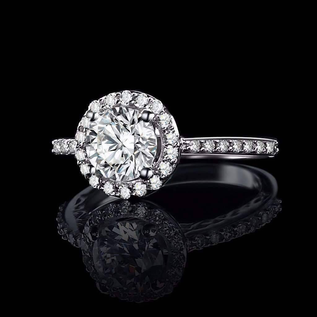 diamond victoria engagement ora rings of round cut cultured luxury ring solitaire iobi d