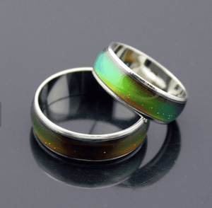 Feshionn IOBI Rings Classic Color Changing Mood Ring