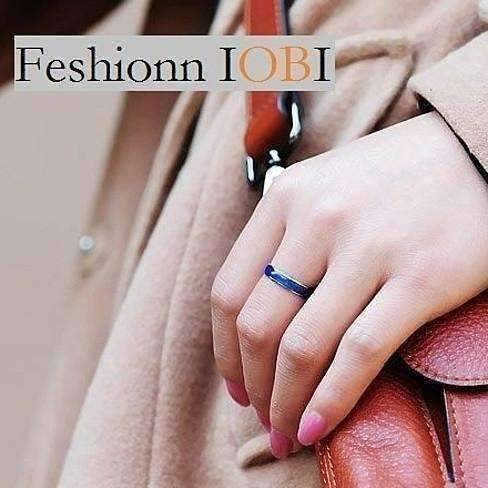 Feshionn IOBI Rings 5 Classic Color Changing Mood Ring