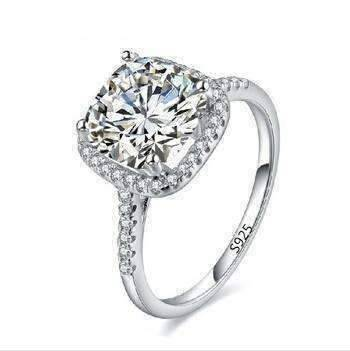 simulated carat ring diamond rings