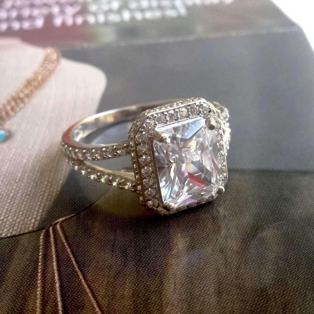 ct shop rings ruby flower white jewelry gold ring emerald womens diamond