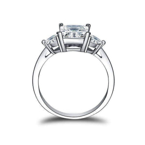 Feshionn IOBI Rings Grace 1.6CT Three Stone IOBI Cultured Diamond Ring