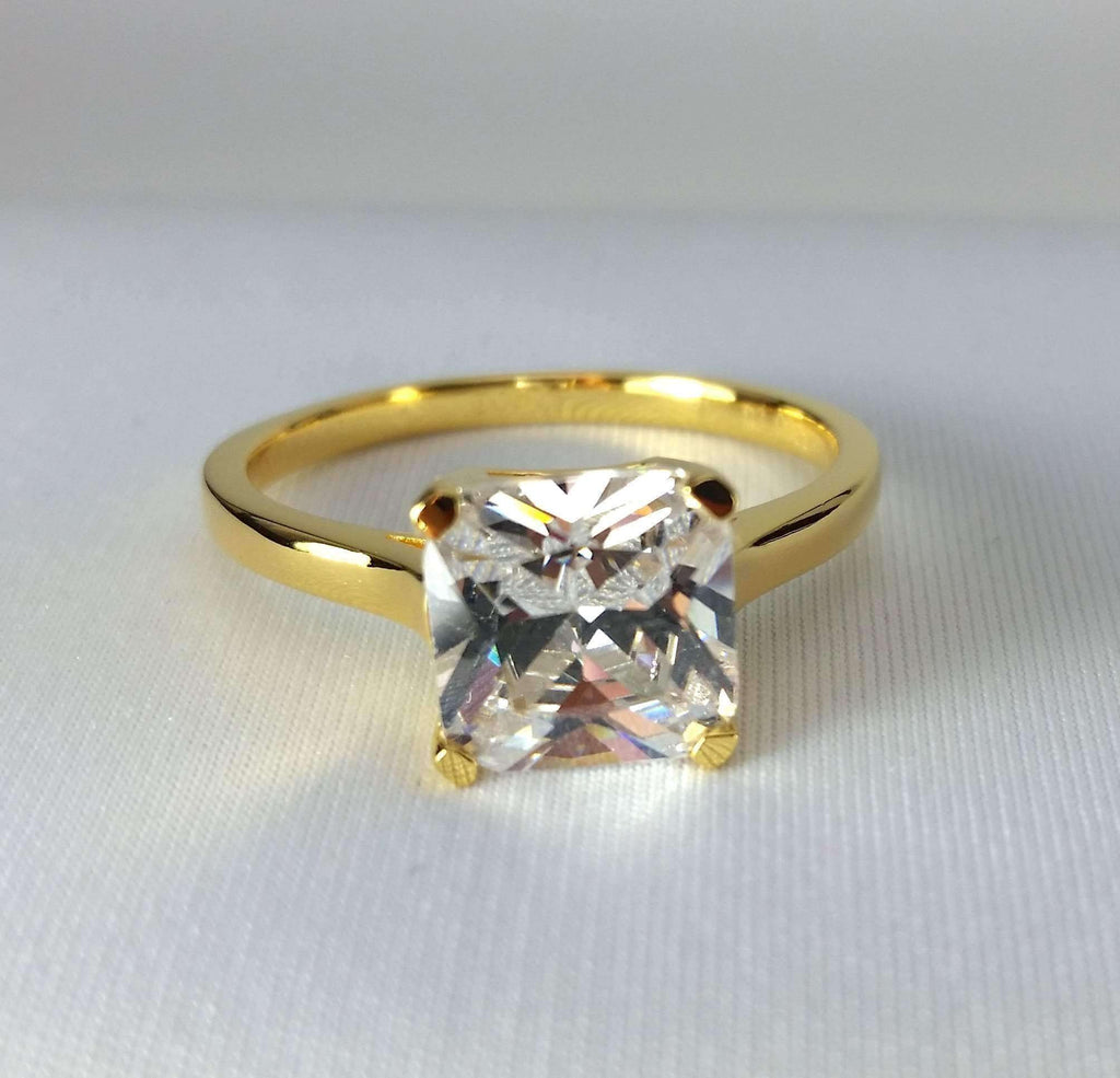 products regina cut cushion doro gold iobi cultured diamond d ring ora halo