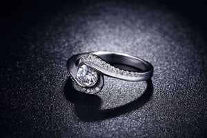 "Feshionn IOBI Rings ON SALE - ""Soul Expression"" 1.2 CT Round Simulated Diamond Ring"
