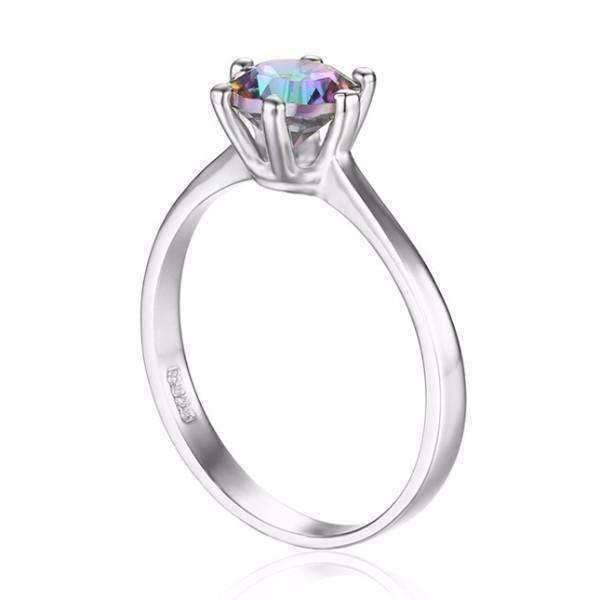 shades engagement passion wedding of rings topaz multi colored mystic ring