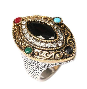 Feshionn IOBI Rings Renaissance Era Bejeweled Cocktail Ring