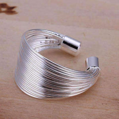 Silky Threads Adjustable Ring