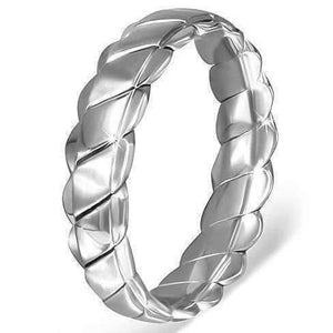 "Feshionn IOBI Rings ""Twisted Ribbon"" Ring"