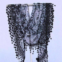 ON SALE - Sheer Elegance Shawl Scarf