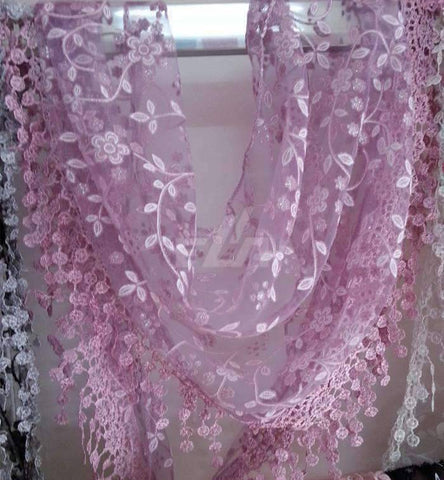 Feshionn IOBI Scarf Lavender ON SALE - Sheer Elegance Shawl Scarf