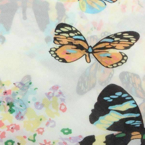 Feshionn IOBI Scarf White Butterfly Breeze Scarf