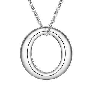 Feshionn IOBI Sets ON SALE - Forever Sterling Silver O Necklace, Earrings and Bracelet Set
