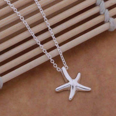 ON SALE - Itty-Bitty Frolicking Stars Sterling Silver Matching Necklace and Earrings Set
