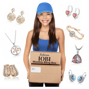 feshionn IOBI Surprise Box Your Monthly Bling Box