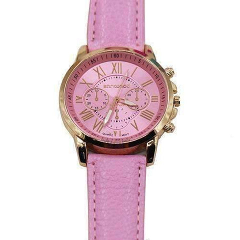 Feshionn IOBI Watches CLEARANCE - Rose Gold Classic Geneva Watch - Choose Your Color
