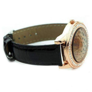 Feshionn IOBI Watches Fierce Leopard Ladies Leather Watch
